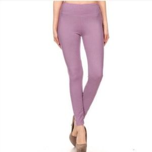 RESTOCKED Soft Lilac Lavender Leggings